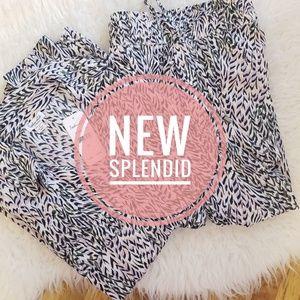 NWT Splendid matching top and pants